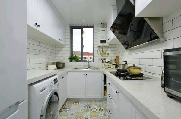 60平米旧房改造装修效果图:厨房